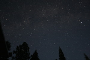 Playing around with some night sky photography at the Girard Ridge Lookout