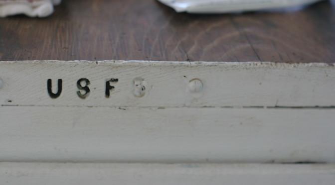 Girard Ridge Lookout, US Forest Service desk detail