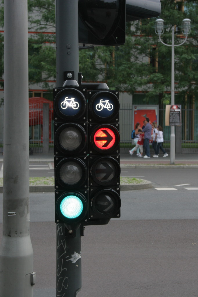 Berlin Bicycle Traffic Signal