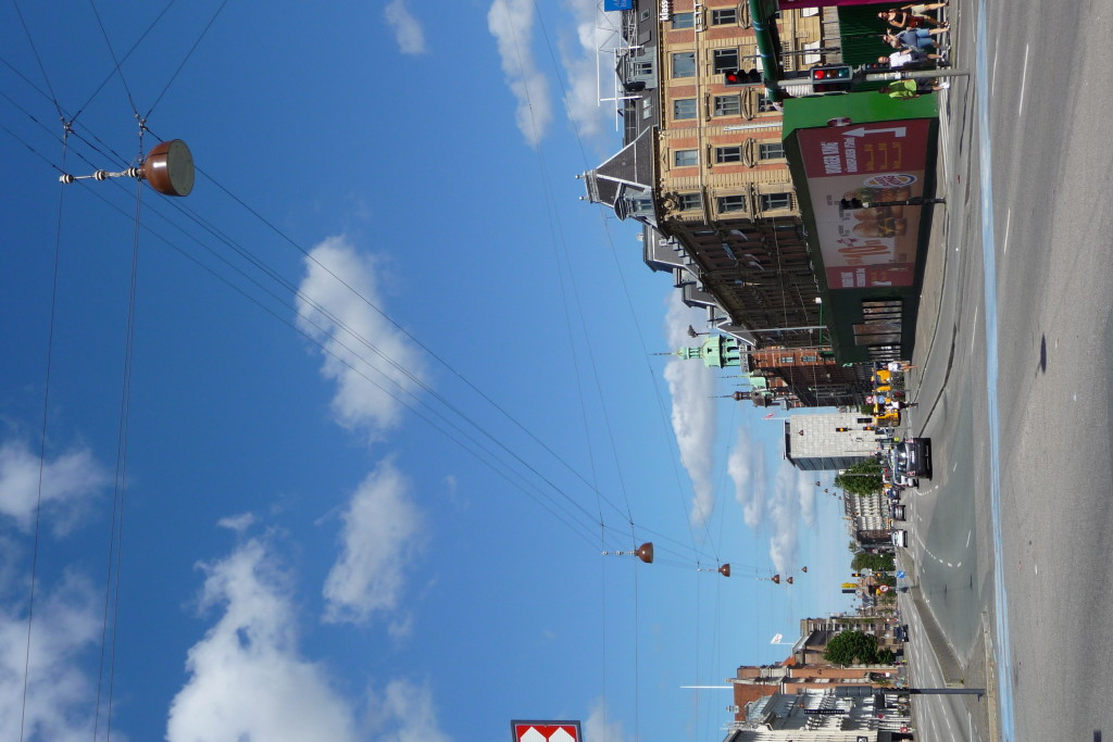 Copenhagen street light