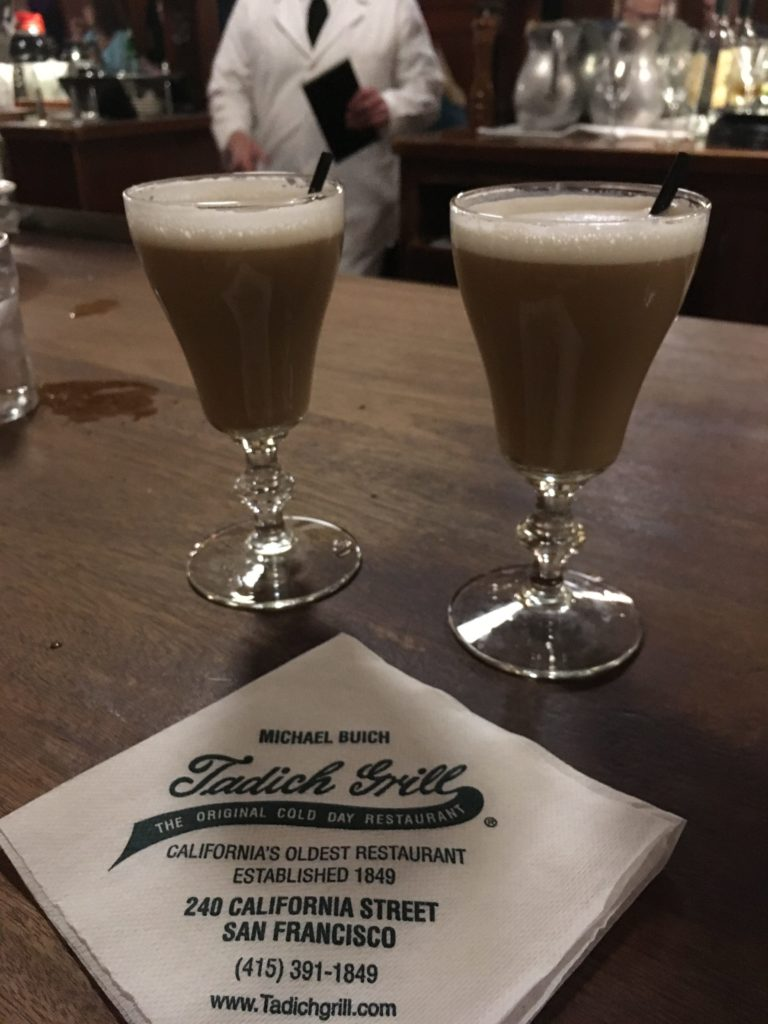Tadich Grill Irish Coffee by Jerad Weiner